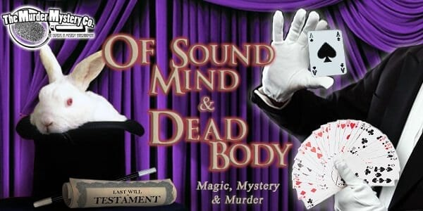 of sound mind and body image for murder mystery show theme