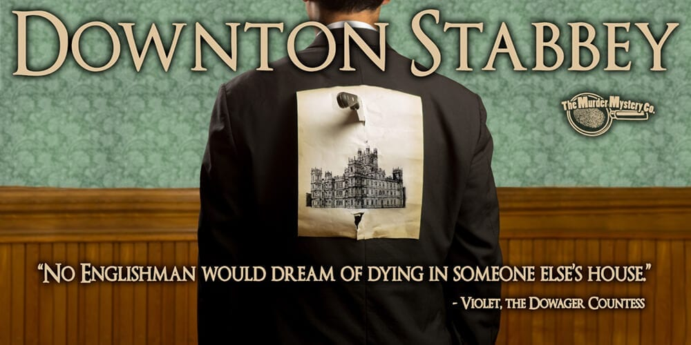 Downton Stabbey Theme Poster
